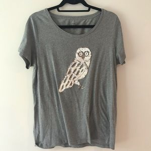 Owl tee - Jcrew